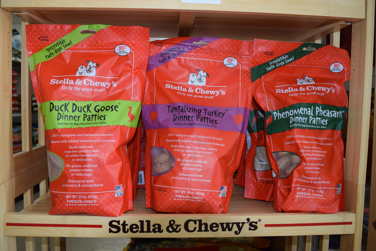 Stella and Chewys Dog Food Harbor Springs Michigan